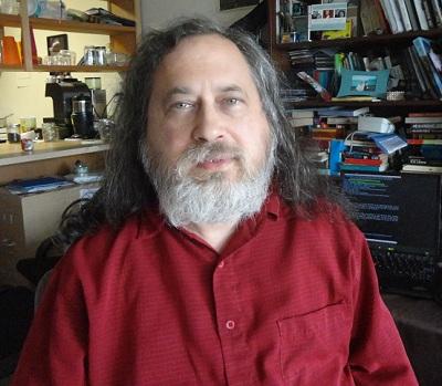 Richard Stallman en la FSF
